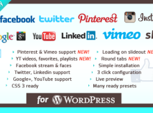 Social Plugin for WordPress